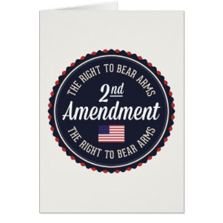Second Amendment Card