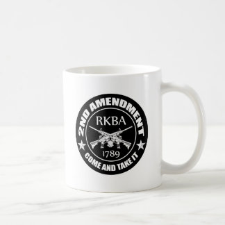 Second Amendment Come And Take It RKBA AR's Coffee Mug