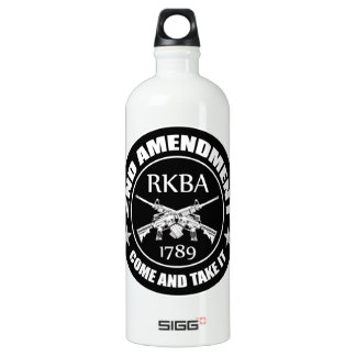 Second Amendment Come And Take It RKBA AR's SIGG Traveler 1.0L Water Bottle