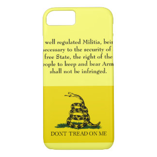 Second Amendment - Don't Tread on Me iPhone 7 Case