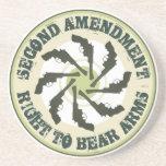 Second Amendment Drink Coaster