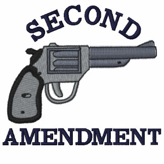Second Amendment Embroidered Hoodies