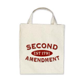 Second Amendment Est 1791 Tote Bag
