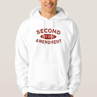Second Amendment Est. 1791 Hoodie