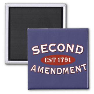 Second Amendment Est 1791 Magnet