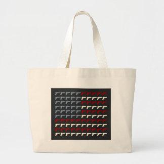 Second Amendment Flag Tote Bags