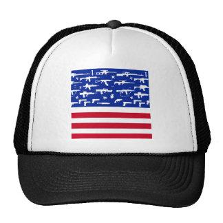 Second Amendment Flag Mesh Hats
