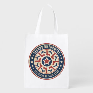 Second Amendment Grocery Bag