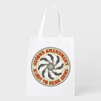 Second Amendment Grocery Bags