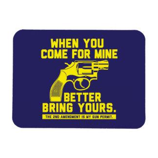 Second Amendment Gun Rights Magnet