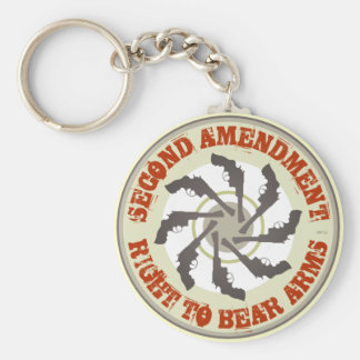 Second Amendment Keychain