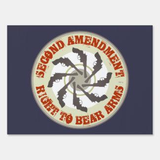 Second Amendment Lawn Sign