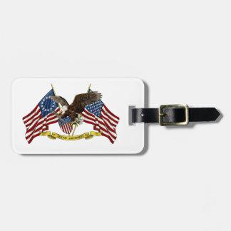 Second Amendment Liberty Eagle Bag Tag