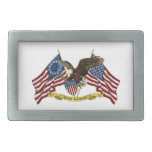 Second Amendment Liberty Eagle Belt Buckle
