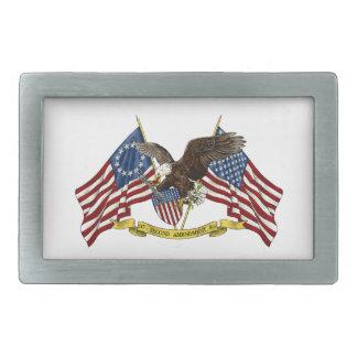 Second Amendment Liberty Eagle Belt Buckle