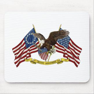 Second Amendment Liberty Eagle Mouse Pad