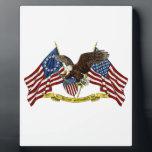 """Second Amendment Liberty Eagle Plaque<br><div class=""""desc"""">Second Amendment Liberty Eagle</div>"""