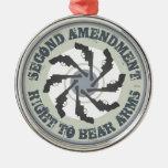 Second Amendment Ornament