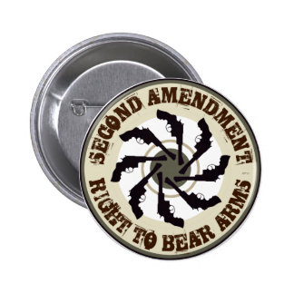 Second Amendment Pinback Button
