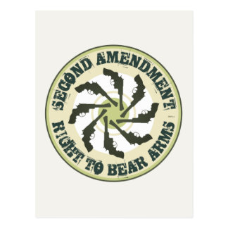 Second Amendment Postcard