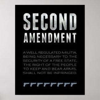 Second Amendment Poster
