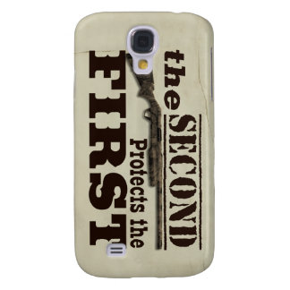 Second Amendment Protects First Amendment Galaxy S4 Case