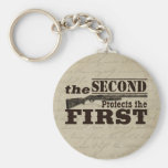 Second Amendment Protects First Amendment Key Chains