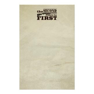 Second Amendment Protects First Amendment Stationery