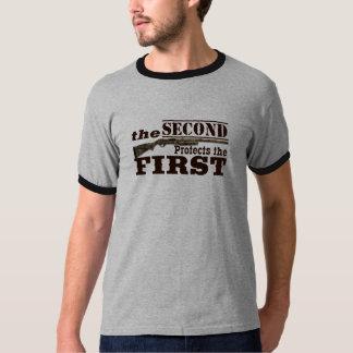 Second Amendment Protects First Amendment T-Shirt