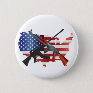 Second Amendment Right to Bear Arms Button