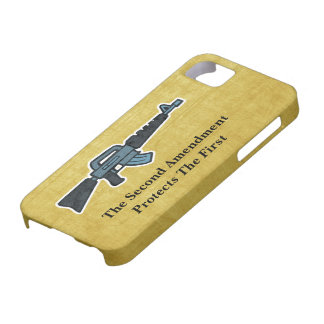 Second Amendment Right To Bear Arms Rifle Art iPhone SE/5/5s Case