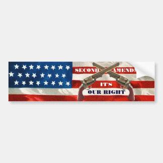 Second Amendment Rights Bumper Sticker