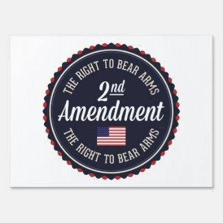 Second Amendment Sign