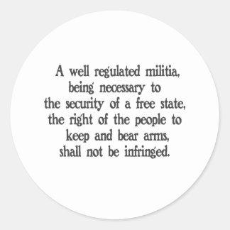 Second Amendment Stickers