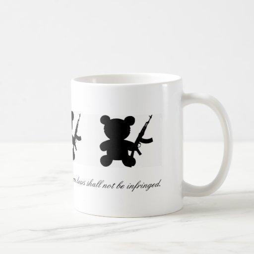Second Amendment/Teddy AR-15 Coffee Mug