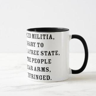 Second Amendment Text Mug