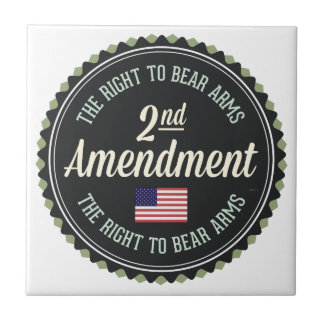 Second Amendment Tile