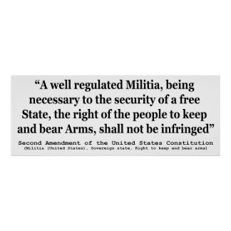 an essay on the rights to bear arms The second amendment of the united states constitution reads: a well regulated militia, being necessary to the security of a free state, the right of the people to keep and bear arms, shall not be infringed.