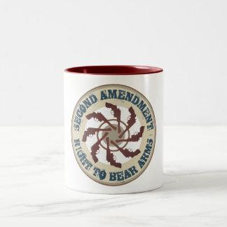 Second Amendment Two-Tone Coffee Mug