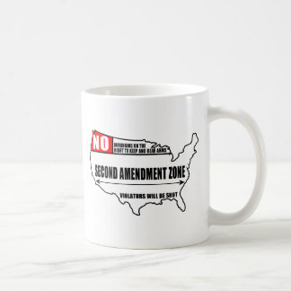 Second Amendment Zone Coffee Mug