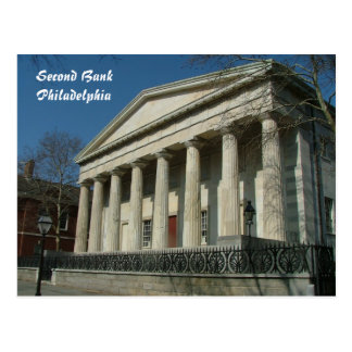 Second Bank Postcard