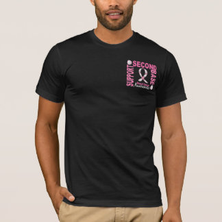 Second Base 1 Breast Cancer T-Shirt