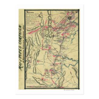 Second Battle of Bull Run 2 Postcard