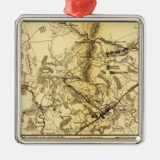 Second Battle of Bull Run 7 Metal Ornament
