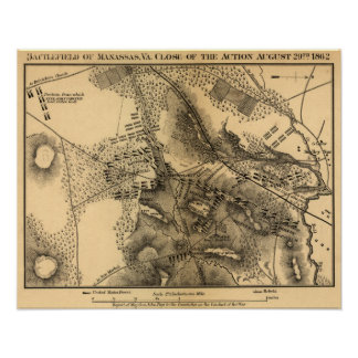 Second Battle of Bull Run Poster