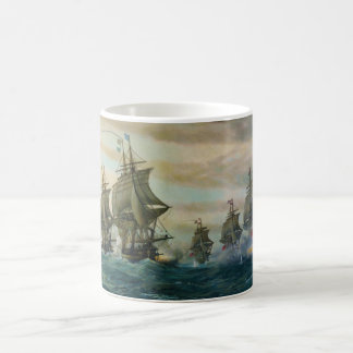 Second Battle of the Virginia Capes Coffee Mug