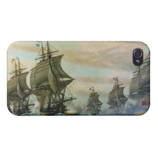 Second Battle of the Virginia Capes iPhone 4/4S Cover