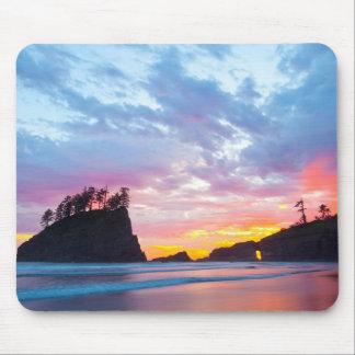 Second Beach at sunset, Washington Mouse Pad