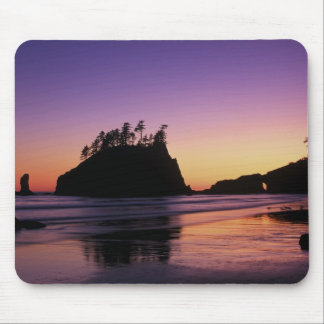 Second Beach at Twilight, Olympic NP, WA, USA Mouse Pad