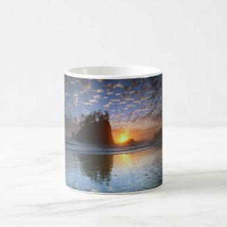 Second Beach, La push, sunset, Classic White Coffee Mug
